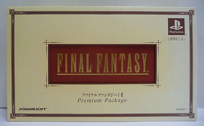 Box & Figure Final Fantasy I & Ii Limited Premium Package Edition - No Game
