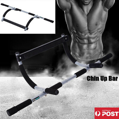 Clearance! Doorway Portable Chin-Up / Pull-Up Exercise Door Bar - Abs Exercise