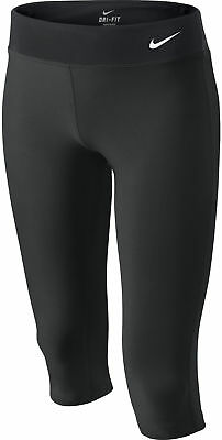 Nike Legend Junior 3/4 Capri Running Tights - Black