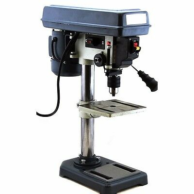"5 Speed 8"" Electric Drill Press W/ Laser Guide Power Tools HD Home Business New"
