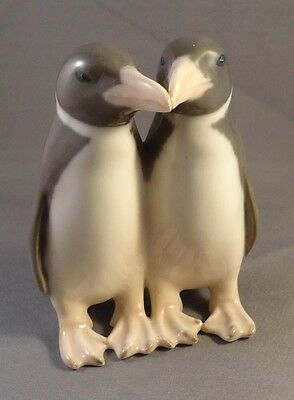 Royal Copenhagen Figure Group - Pair Of Penguins - Style 1190