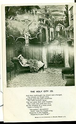 POSTCARD SONG CARDS The Holy City  (2)
