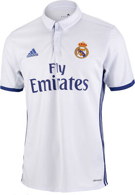adidas Real Madrid Home 2016/17 Junior Football Shirt