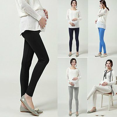 New Pregnant Women Abdominal Maternity Pants Belly Elastic Leggings Trousers
