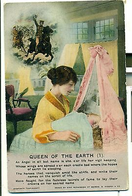 POSTCARD SONG CARDS  Queen of the Earth (1)
