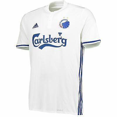 adidas Mens Gents Football Soccer Copenhagen Home Shirt Jersey 2016-17