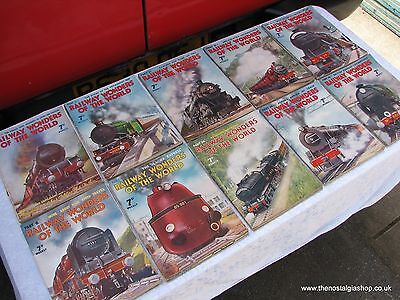 Railway Wonders Of The World. Complete Collection. 50 Issues.