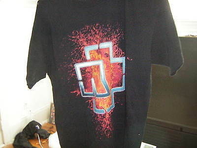 Rammstein Promo Shirt 2005 German Metal Band Large