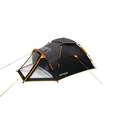 Khyam Highlander 2/3 Person Man Pop Up Quick Pitch Motorcycle Camping Tent