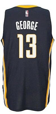Canotta/jersey Swingman Da Collezione-Basket Nba-Indiana Pacers-Paul George-Blu