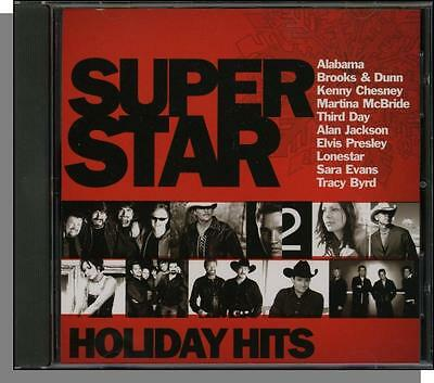 Super Star Holiday Hits (Home For The Holidays) - BMG Country Stars Christmas CD