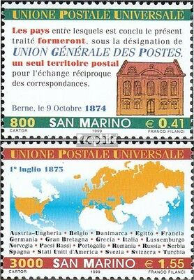 San Marino 1836-1837 (complete.issue.) unmounted mint / never hinged 1999 125Jah