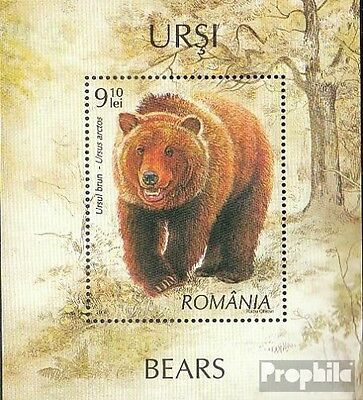 Romania Block423 (complete.issue.) unmounted mint / never hinged 2008 Bears