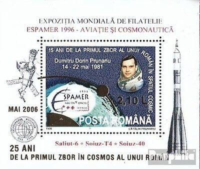Romania Block377a I (complete.issue.) unmounted mint / never hinged 2006 Space