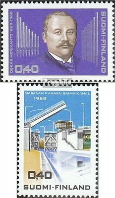 Finland 649,650 (complete.issue.) unmounted mint / never hinged 1968 Merikanto,