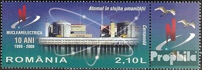 Romania 6331 with zierfeld (complete.issue.) unmounted mint / never hinged 2008