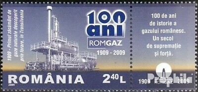 Romania 6356 with zierfeld (complete.issue.) unmounted mint / never hinged 2009