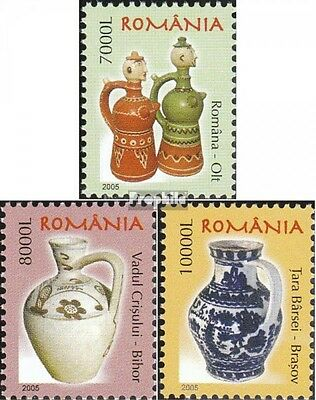 Romania 5916-5918 (complete.issue.) unmounted mint / never hinged 2005 clear bra