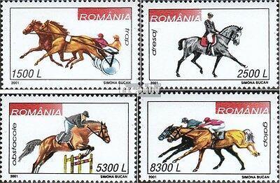 Romania 5599-5602 (complete.issue.) unmounted mint / never hinged 2001 Equestria