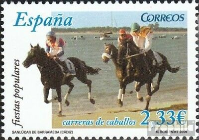 Spain 4148 (complete.issue.) unmounted mint / never hinged 2006 Festivals: Horse