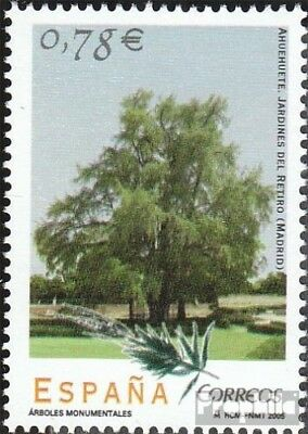 Spain 4024 (complete.issue.) unmounted mint / never hinged 2005 Trees