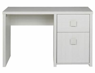White Desk Home Office Childs Study Childrens School Student Wood Furniture