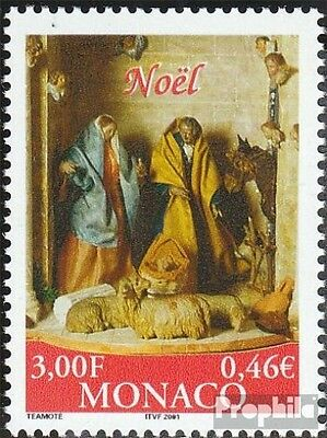 Monaco 2525 (complete.issue.) unmounted mint / never hinged 2000 christmas