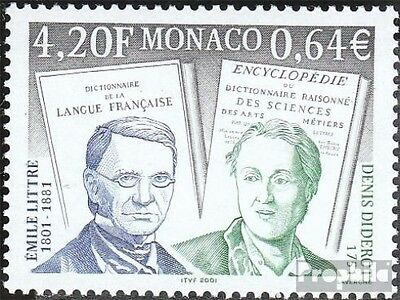 Monaco 2560 (complete.issue.) unmounted mint / never hinged 2001 Personalities