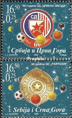 Yugoslavia 3277-3278 (complete.issue.) unmounted mint / never hinged 2005 Sportv