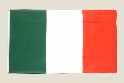 Italy 3x5 Flag Green White Red Polyester 2 Brass Grommets Country Italian New