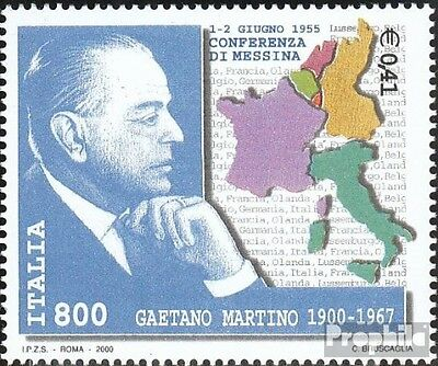 Italy 2732 (complete.issue.) unmounted mint / never hinged 2000 Gaetano Martino
