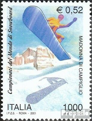 Italy 2739 (complete.issue.) unmounted mint / never hinged 2001 Snowboard - WM