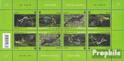 Estonia 674-677 Sheetlet (complete.issue.) unmounted mint / never hinged 2010 Ka