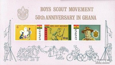 Ghana Block27 (complete.issue.) unmounted mint / never hinged 1967 Scouts