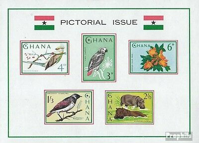 Ghana block15 (complete.issue.) unmounted mint / never hinged 1964 Flora and Flo