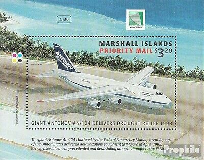 Marshall-Islands block24 (complete.issue.) fine used / cancelled 1998 Transportf