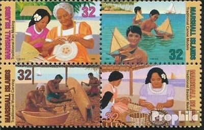 Marshall-Islands 776-779 block of four (complete.issue.) fine used / cancelled 1