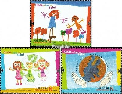 Portugal 3242-3244 (complete.issue.) unmounted mint / never hinged 2007 Children