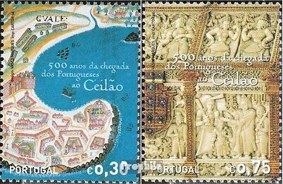 Portugal 3115-3116 (complete.issue.) unmounted mint / never hinged 2006 Arrival