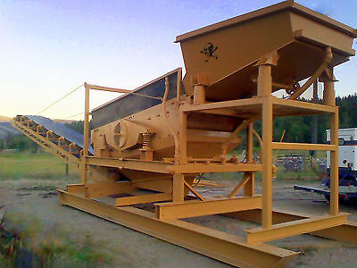 Wash Plant (new) Mobile Placer Mining - Gold, Sapphires, Diamonds