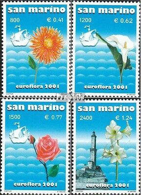 San Marino 1954-1957 (complete.issue.) unmounted mint / never hinged 2001 EUROFL