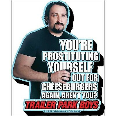 Trailer Park Boys Julian Funky Chunky Magnet Prostituting for Cheeseburgers TPB