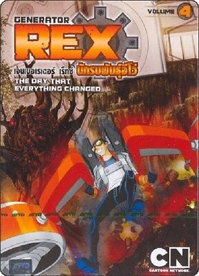 Generator Rex Vol 4 - Episodes 16 - 20 Brand New Sealed Region Free Pal Dvd!!!!!