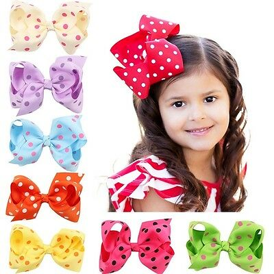1PC Newly Big Bow Hairpins Hair Clips for Children Kids Girls Hair Accessories