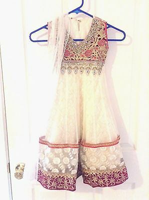 Lot of 3 Children Pakistani Indian Salwar Kameez Party Dress Wedding Eid