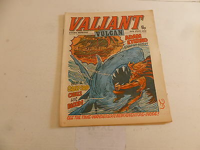 VALIANT & VULCAN Comic - Date 10/07/1976 - IPC UK Comic