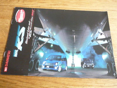DAIHATSU MOVE RS CAR SALES BROCHURE 1990's? JAPANESE WITH A LITTLE ENGLISH