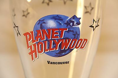Planet Hollywood VANCOUVER Pilsner glass