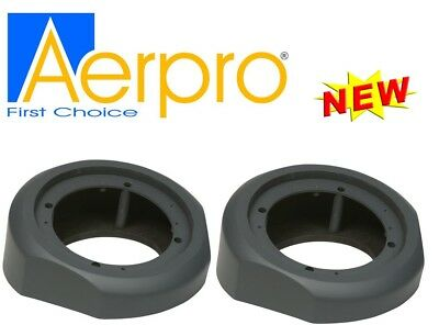 "Aerpro Aps620Rg 6"" / 6.5"" Car Speaker Spacers Grey Angled Rear Surface Mount"