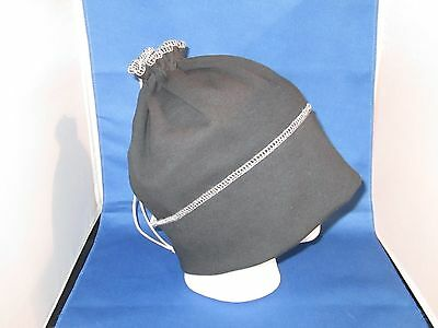 EMF RF Radiation Protection Shield Hat RFID Blocking Shielding Hat Cap - BLACK
